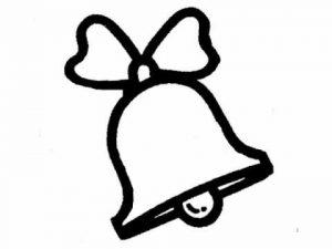 imagen de una campana navideña