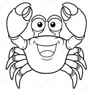 imagenes de cangrejos para colorear