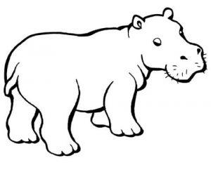 imagenes de hipopotamos en caricatura