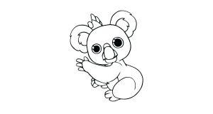 imagenes de koalas bebes
