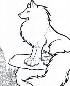 imagenes de lobos animados