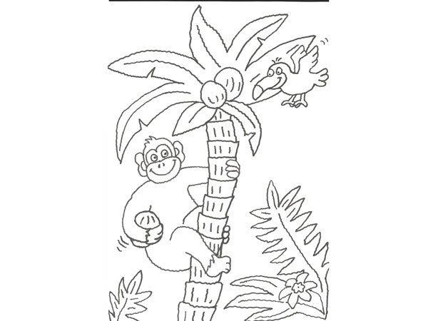 ✎ Dibujos de Monos 【+Tutorial】 Pintar un mono animado