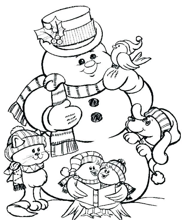 imagenes de muñecos de nieve navideños