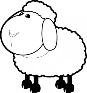 imagenes de ovejas para dibujar