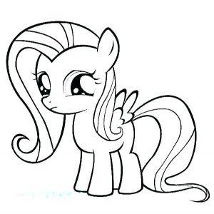 imagenes de ponis para colorear