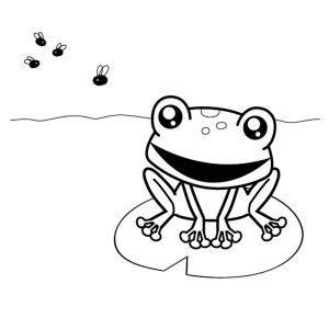 imagenes de ranas para dibujar
