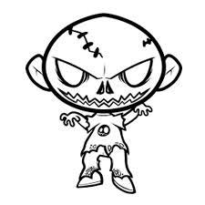 imagenes de zombies para dibujar