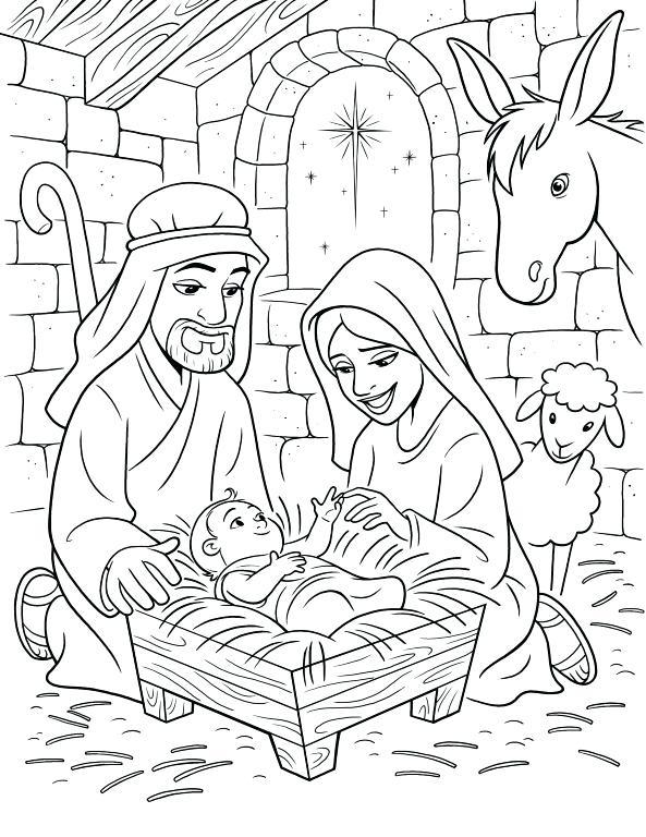 Dibujos Del Nacimiento De Jesús Tutorial Fácil A Lápiz