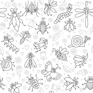 insectos animados