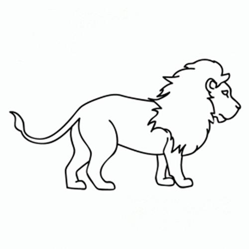 Dibujos De Leones Tutorial Imágenes De Leones Para Pintar Fácil