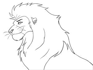 🥇 Dibujos de Leones | Como dibujar un León |