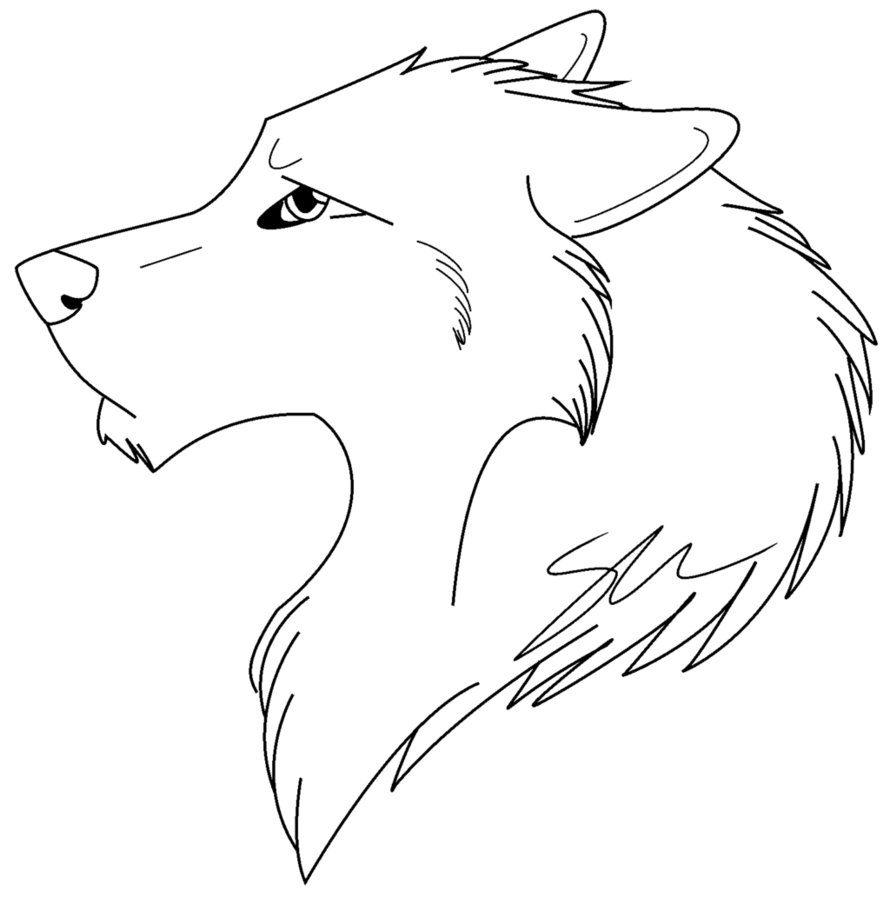 Dibujos De Lobos Tutorial Pintar Un Lobo Facil