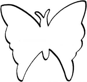 mariposa colorear