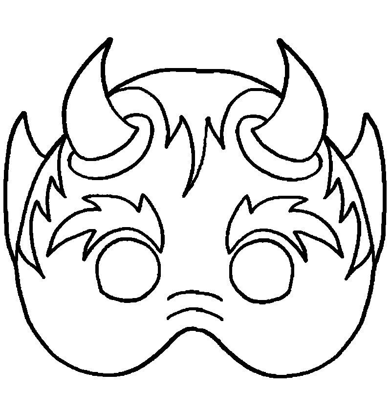 🥇 Dibujos de Mascaras | Como pintar una Máscara |