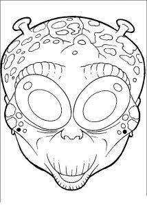 mascaras para colorear