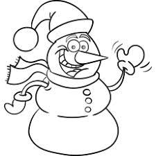 mono de nieve navideño