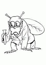 mosca en caricatura