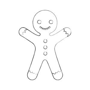muñeco de galleta de jengibre