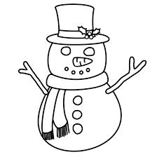 muñeco de nieve manualidades