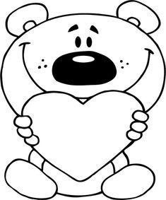 oso polar dibujo