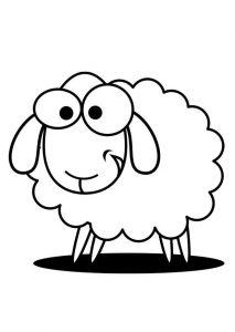 ovejas para dibujar
