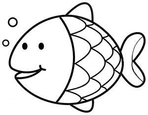 pez payaso dibujo