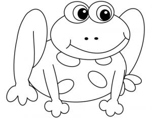 ranas para dibujar faciles