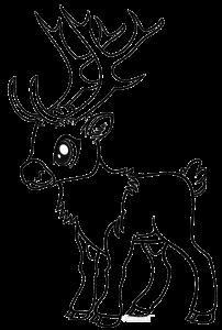 renos navideños animados