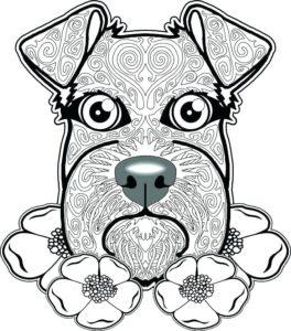 imagenes de cachorros para dibujar