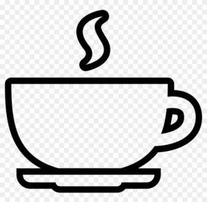 como dibujar en el cafe
