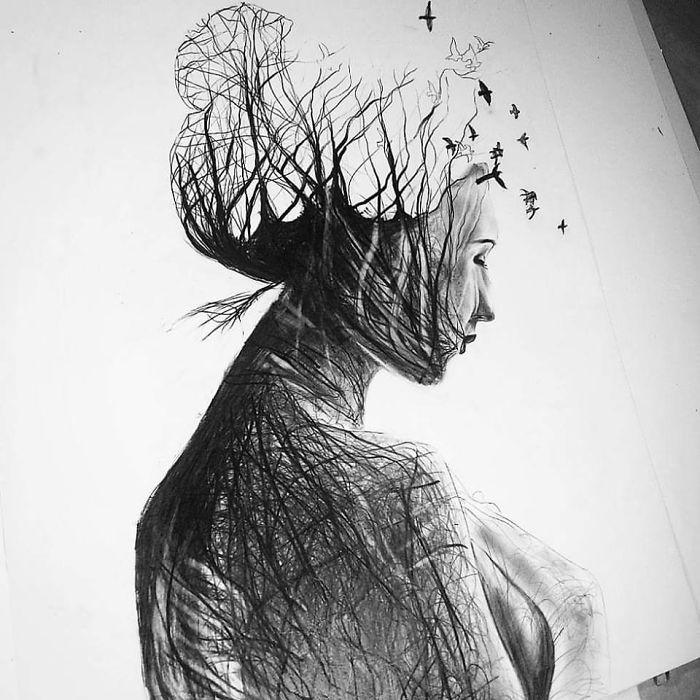como dibujar personas a lapiz