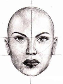 como dibujar un rostro a lapiz facil