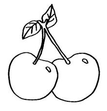 como dibujar una cereza