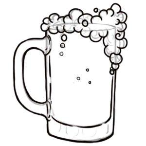 como dibujar una jarra