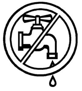 dibujo de ciclo del agua