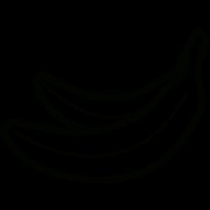 dibujo del banano