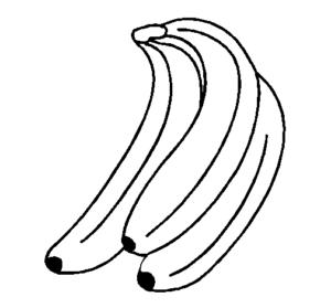 imagen de un banano