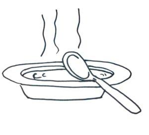 como dibujar el plato del buen comer