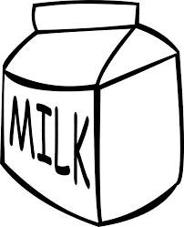como dibujar una caja de leche