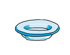 dibujo plato de comida