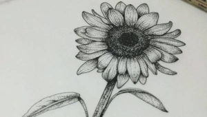 dibujos de girasoles a color