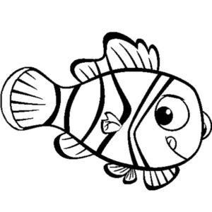 dibujos de pescados para colorear