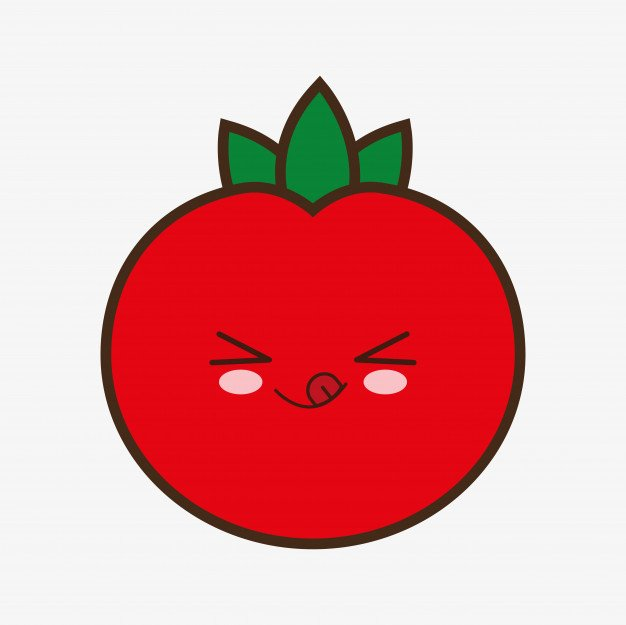 dibujos de tomates animados