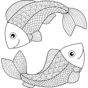 diseños de pescados