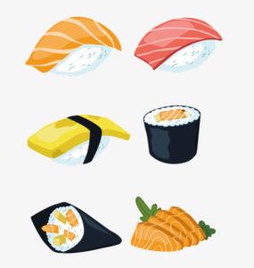 envolturas de sushi