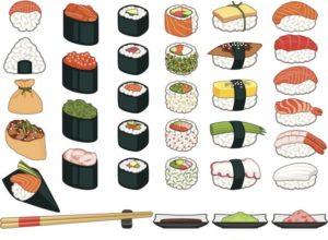 estilos de sushi