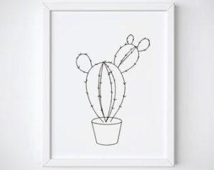 fotos de cactus con flores