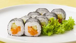fotos de platos de sushi