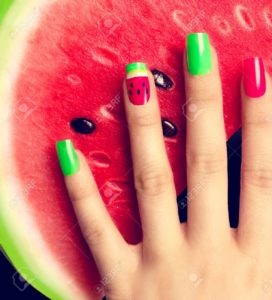 imagenes de uñas de sandia