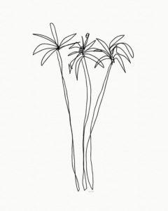 moldes de palmeras para imprimir